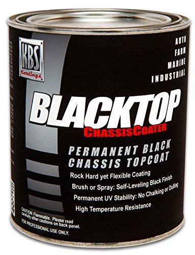 KBS Coatings 8302 OEM Satin Black BlackTop Chassis Paint - 1 Pint