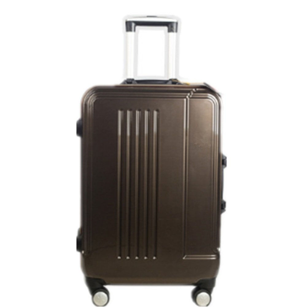 軽量スーツケース トラベルケースアルミフレームトランクメタルロッドボックスビジネスファイル防水ビジネストラベルボックスギフトボックス。 旅行スーツケース B07R7V2ZQY