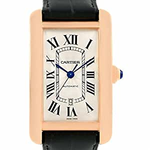 Cartier Tank Americaine automatic-self-wind mens Watch W2609856 (Certified Pre-owned)