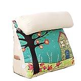 Cushions 452250CM, 602250CM, Cartoon Pillow Triangle Head Pillow, Bay Window Office Sofa Waist Belt Neck (Color : E, Size : 452250CM)