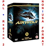 Airwolf Complete Season 1-3 Collection [NON-U.S.A. FORMAT: PAL + Region 2 + U.K. Import]
