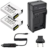 Bonadget 2 Pack Power Battery and Charger Kit for Nikon EN-EL12 Coolpix AW100, AW110, P300, S630, S640, S6000, S6100, S6150, S6200, S6300, S8000, S8100, S8200, S9050, S9100, S9200, S9300, S9500