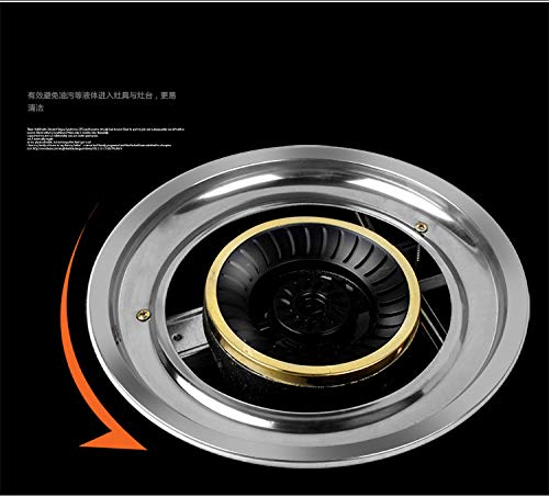 3800w Gas Stove Tempered Glass Cooker Natural Gas Liquefied Gas Single Pot Table Type Honeycomb Single Furnace Single-cooker by SMILESSGSP (Image #3)