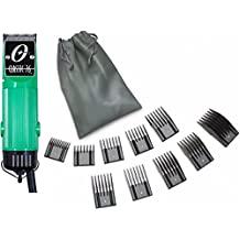 New Oster Classic 76 Green Color Limited Edition Hair Clipper +10 PC Comb Set