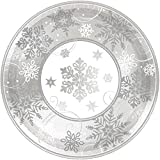 Amscan Party Paper Childrens Plates, White, 12""