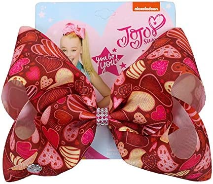 "8/"" Large JOJO Siwa Girls Hair Bow clip"