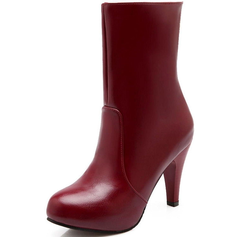 KemeKiss Women Fashion Party Boots Platform Stiletto High Heels Winter Shoes