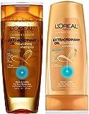 L 'Oreal Paris Shampoo and Conditioner Set, 12.6 Oz Extraordinary Oil