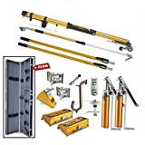 TapeTech Standard Full Drywall Tool Set with 2 Pumps - FREE Tool Case
