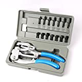 "Multi-Purpose Power Hole Punch Kit | 7 Sizes from 3/32"" to 9/32"""