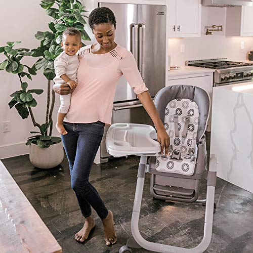 Ingenuity SmartServe 4-in-1 High Chair with Swing Out Tray – Clayton – High Chair, Toddler Chair, and Booster by Ingenuity (Image #12)