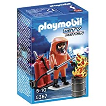 PLAYMOBIL (Playmobil) Special Forces Firefighter Set (parallel import goods)