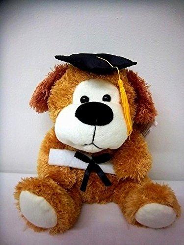 Plush Floppy Ear Graduation Dog - 9 Inch (Graduation Stuffed Animal)