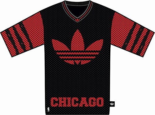 adidas Originals Herren Chicago Bulls O T-Shirt
