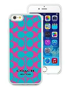 Genuine Coach 21 White Iphone 6 4.7 inches Screen TPU Phone Case Charming and Grace Design