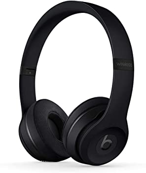 Beats Solo3 Bluetooth Wireless On-Ear Headphones (Black)