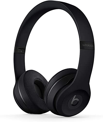 Amazon Com Beats Solo3 Wireless On Ear Headphones Apple W1 Headphone Chip Class 1 Bluetooth 40 Hours Of Listening Time Matte Black Previous Model