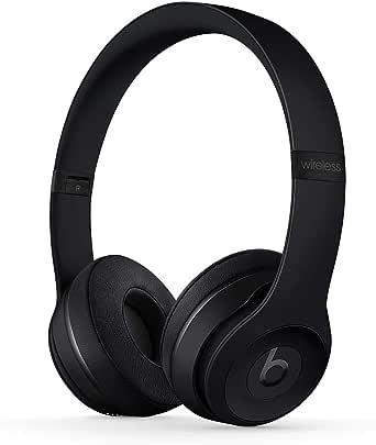 Beats Solo3 Wireless On-Ear Headphones - Apple W1 Headphone Chip, Class 1 Bluetooth, 40 Hours Of Listening Time - Matte Black (Previous Model)