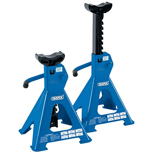 Draper 30878 Axle Stands 2 t Set of 2