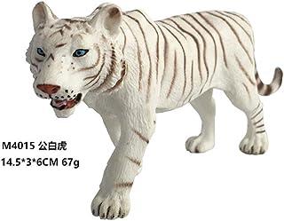 Mioloe Giocattolo educativo realistico della tigre del modello animale figurine di figura della tigre selvaggia