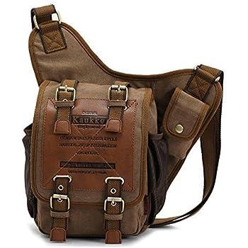 Amazon.com: S-ZONE Sling Bag for Men Chest Shoulder Gym Backpack ...