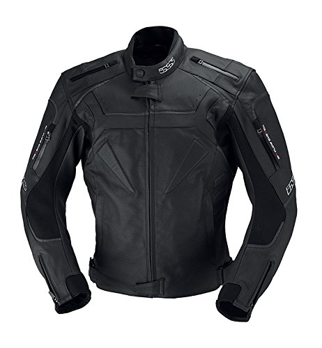 IXS Men's Dundrod Perforated Jacket (Black, Size US 40/Size EU 50) from IXS