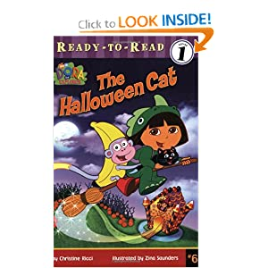 Halloween Cat (Ready to Read Level 1) Christine Ricci and Zina Saunders