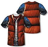 Back to the Future - Mcfly Vest (Front/Back Print) T-Shirt Size XXXL