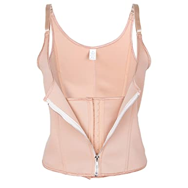 1bb2ec09933 Womens Underbust Waist Trainer Vest Hourglass Long Torso Tummy Fat ...