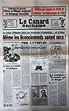 CANARD ENCHAINE (LE) [No 4423] du 03/08/2005 - PRIVATISATION DES AUTOROUTES / CHIRAC ET VILLEPIN CRAIGNENT UN DERAPAGE INCONTROLE -CHIFFRES DE L'EMPLOI ET EFFETS DE MANCHE / LES BIDONNAGES DE L'ETE -LE PLAN VILLEPIN FACE AU MANQUE D'EMPLOIS -VIDEOSURVEILLANCE RENFORCEE -LE NIGER OU LE DEVOIR DE NEGLIGENCE -ROI ABDALLAH / LA FRATRIE EST EN DANGER PAR PAGES