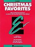 Essential Elements Christmas Favorites: Bb Clarinet