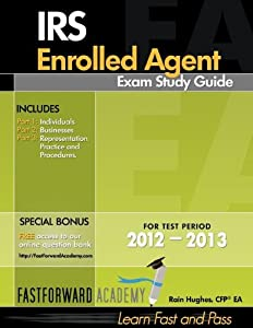 IRS Enrolled Agent Exam Study Guide 2012-2013 (Paperback)