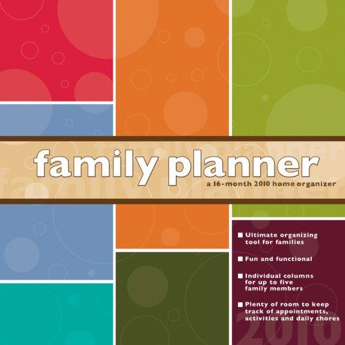Planner 2010 Wall Calendar - FAMILY PLANNER 2010 Wall Calendar