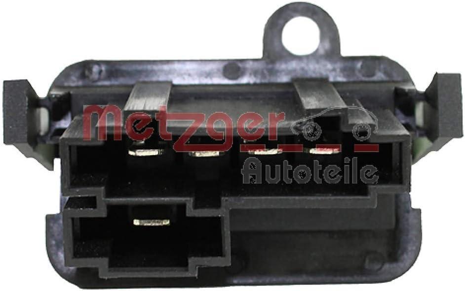 Metzger 0917003 Resitencia, ventilador habitáculo: Metzger: Amazon ...