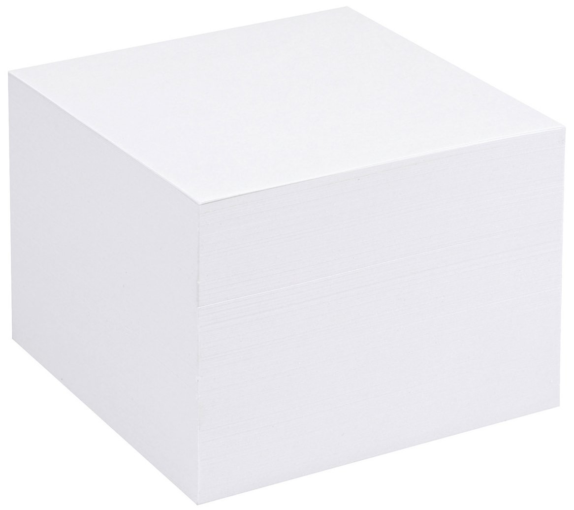 Ricarica per blocco cubo trasparente 5 Star - bianco - 393725 CP055YTWHI