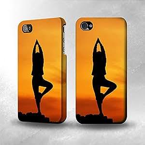 Apple iPhone 4 / 4S Case - The Best 3D Full Wrap iPhone Case - Yoga