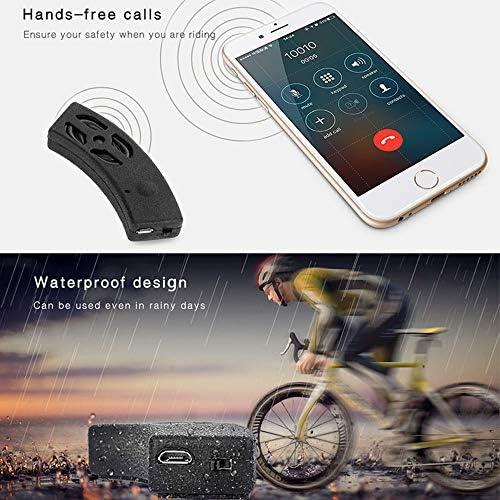 LEIWOOR Motorcycle Bicycle Bluetooth Speaker Helmet Audio Stereo Headset Handsfree Call Rechargeable Waterproof
