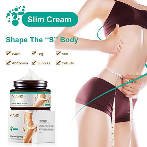 50g Slim Cream,Slimming firming Cream,Skin Tightening Cream,Hot cream,Break Down Fat Tissue,Body Fat Burning Best Weight Loss Cream and Slimming Cellulite Tightening cream,Tightens & Moisturizes Skin