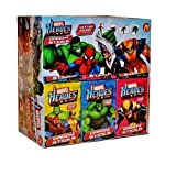 Amazon Com Marvel Spider Man Candy Sticks W Glow In The