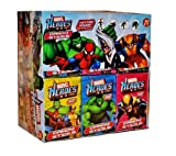 Marvel Super Hero Candy Sticks w/ Tattoo 30 Packs