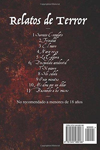Bloody Mary: Relatos cortos de terror (Spanish Edition): Fran Barrero: 9781540489166: Amazon.com: Books