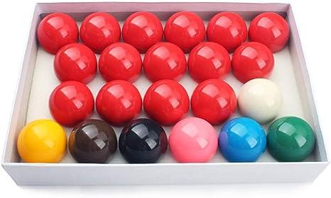 ZXH 52.5mm Snooker Bolas de Billar-22 Pool Cue Ball: Amazon.es ...