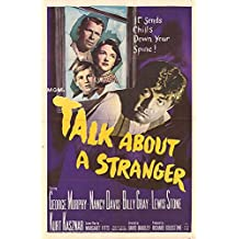 "Talk About A Stranger - Authentic Original 27"" x 41"" Folded Movie Poster"