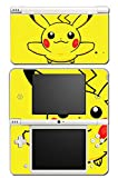 Pikachu Special Edition X Y Omega Ruby Alpha Sapphire Black and White Video Game Vinyl Decal Skin Sticker Cover for Nintendo DSi XL System