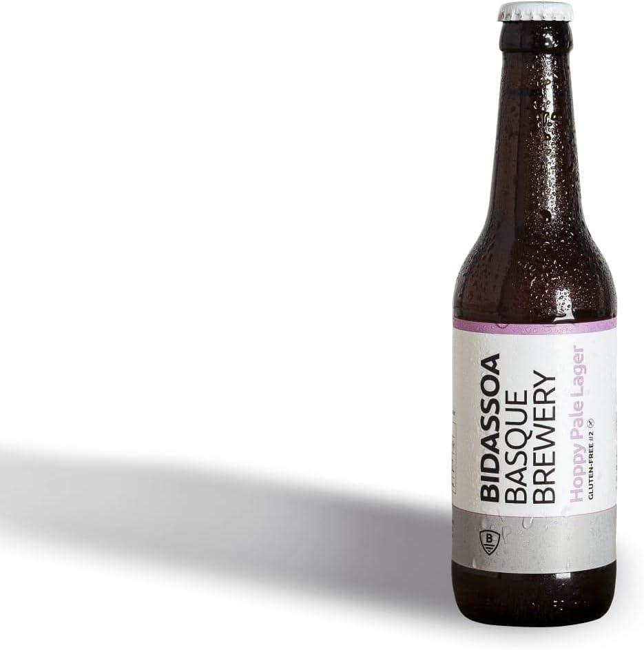 Cerveza BIDASSOA. Pack Gluten Free: caja de 12 botellas 33cl, 1 estilo: Hoppy Pale Lager: Amazon.es: Alimentación y bebidas