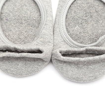 ZXJOY Yoga Socks Women/'s Non Slip Grip Cotton Ballet Dance Sport Massage Ankle Socks 5Pairs