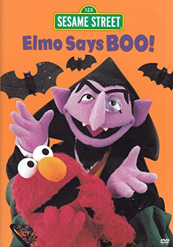 Sesame Street - Elmo Says Boo (Halloween Counting Pages)