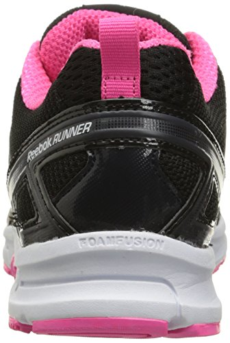 Poison Pink Running Reebok Silver Coal Women's Shoes Black Runner MT White wqS0g1nS8
