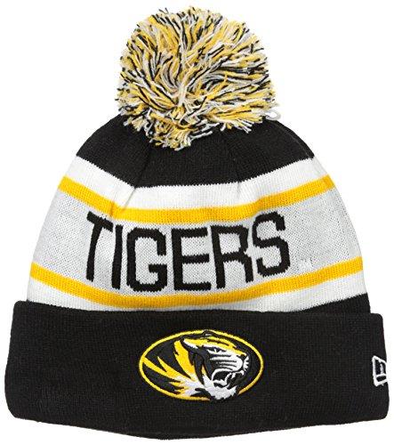 NCAA Missouri Tigers Adult Biggest Fan Redux Knit Hat, One Size, - Biggest Hat Size