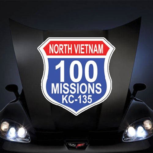 (Air Force USAF 100 Missions North Vietnam KC 135 20